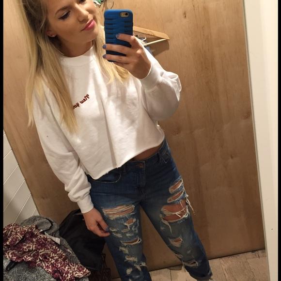 Brandy Melville Sweaters New York Sweatshirt Poshmark