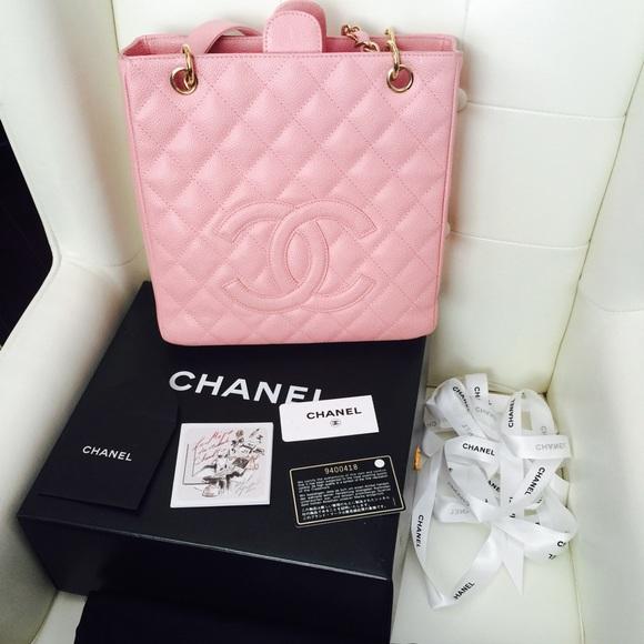 edd4b0ae24ee CHANEL Bags | Authentic Pstpetite Caviar Shopping Tote | Poshmark