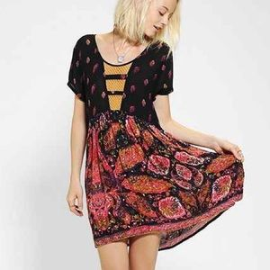 Urban Outfitters Dresses & Skirts - Minkpink Multicolor Baby Doll Dress
