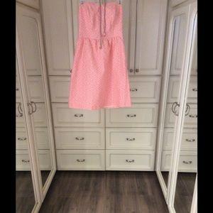 Beautiful Pim+Larkin jacquard strapless dress