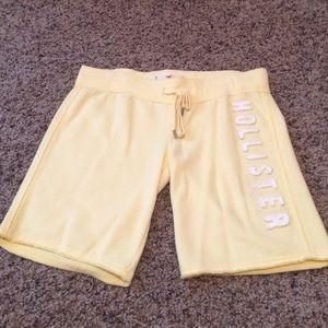Hollister yellow shorts size XS