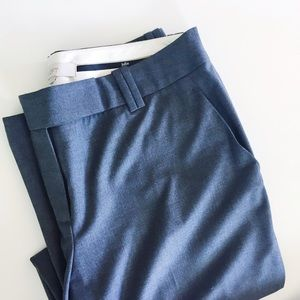 LOFT Pants - LOFT charcoal gray trousers.