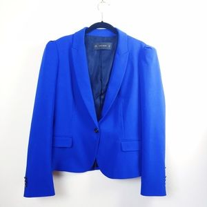 Zara Jackets & Blazers - NWOT Zara cobalt blue blazer.