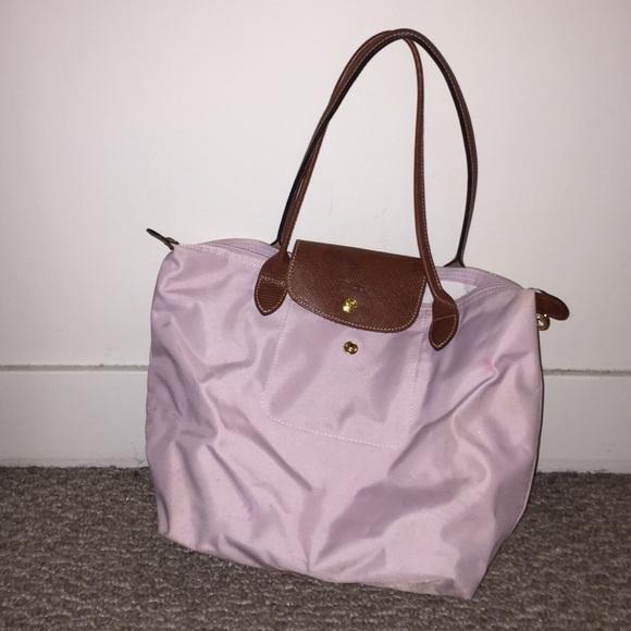 Latest Cheap Light Longchamp Bubble Bags Light Pink