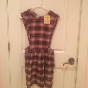 LF Plaid dress