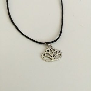 Lotus Choker Necklace