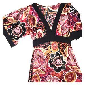 Kimono Top w/ Tie Back