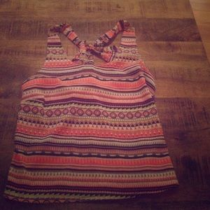 Aztec tank with bow back!
