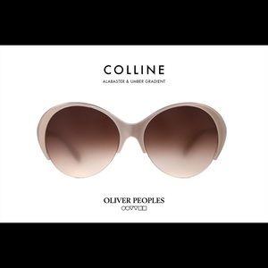 Oliver Peoples 'Colline' Sunglasses Brown Beige
