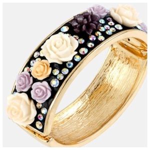 Broken flower betsey johnson bracelet
