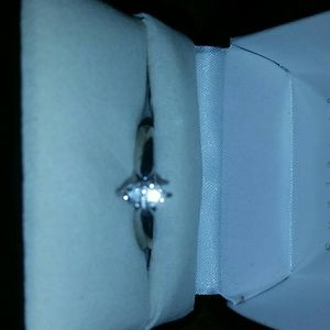 Kay Jewelers Jewelry - Fancy cut marquee size 8.25 solitaire ring