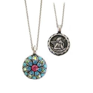 mariana spirit of design guardian angel necklace