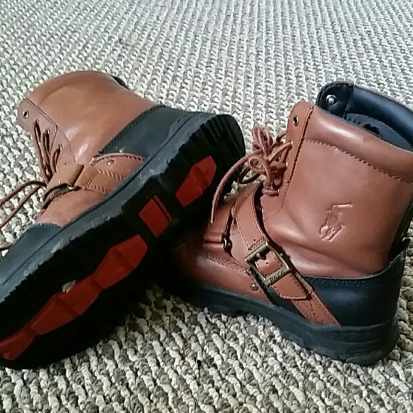 73 polo by ralph boots polo boots brown and