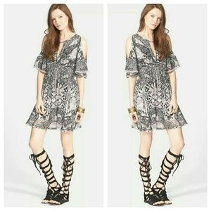 Free People Cold Shoulder Dress