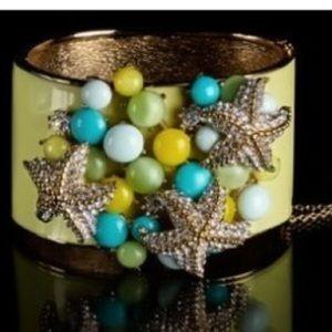 J.Crew Starfish Cuff Bracelet