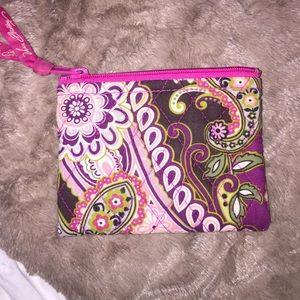 Vera Bradley coin purse!