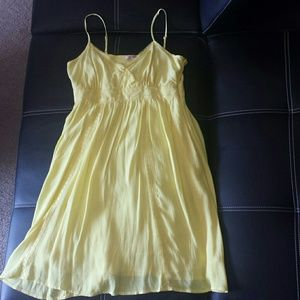 Forever 21 Women's Yellow Dress Size S