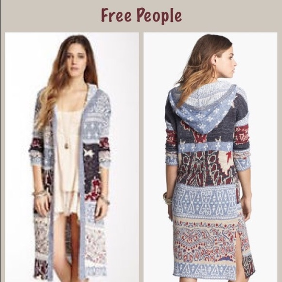 afdef352322 Free People Sweaters - For SHANNON ONLY ❤ Free People bandana cardigan