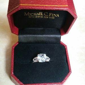 Sapphire And Diamond Ring Michael C Fina