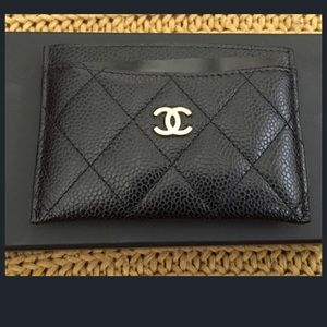 100% AUTH CHANEL CREDIT CARD HOLDER