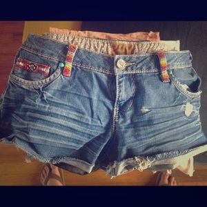 DNY Denim - DNY cut off Hippie shorts size 13/14