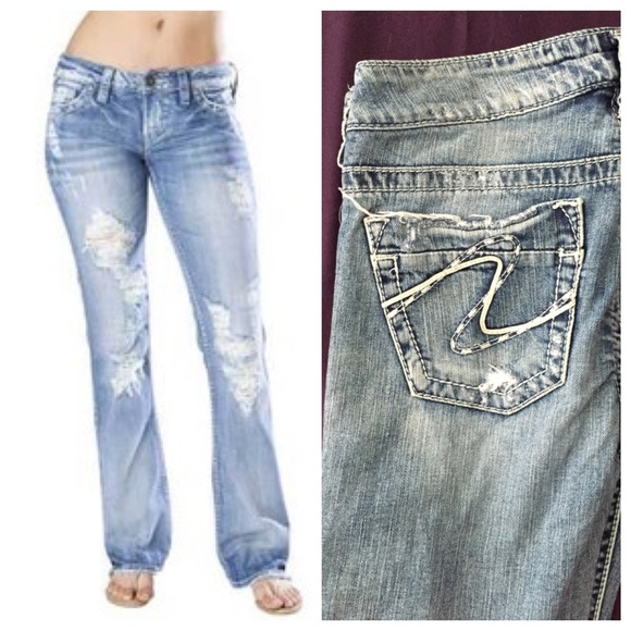67% off Silver Jeans Denim - Silver jeans (Frances 18) 29/33 from