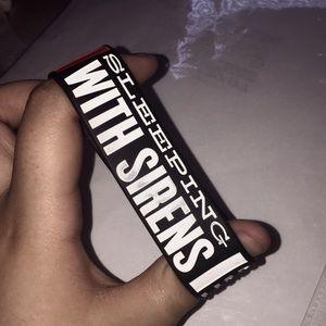 Sleeping with Sirens bracelet