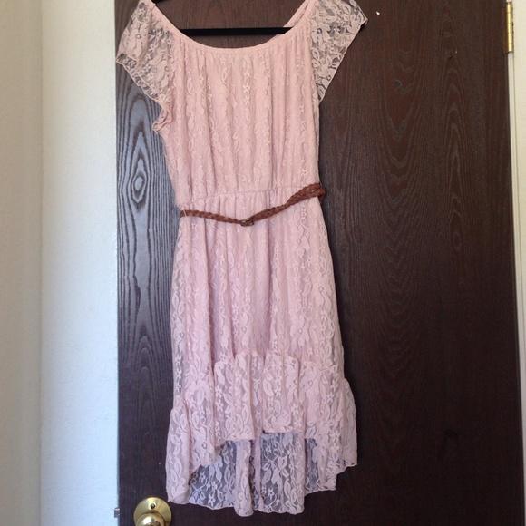 60 heartsoul dresses skirts light pink lace high