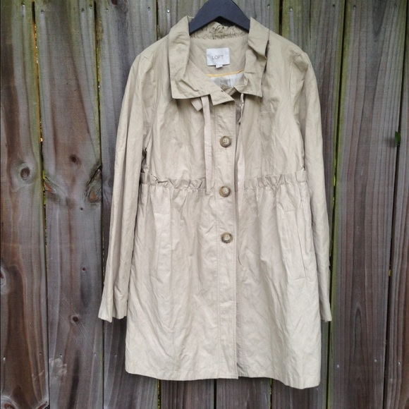 Loft Jackets Amp Coats Trench Coat Poshmark