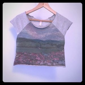 Tops - Butterfly Valley Crop Top NEW!