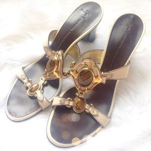 Authentic Giuseppe Zanotti Tigers Eye Sandals