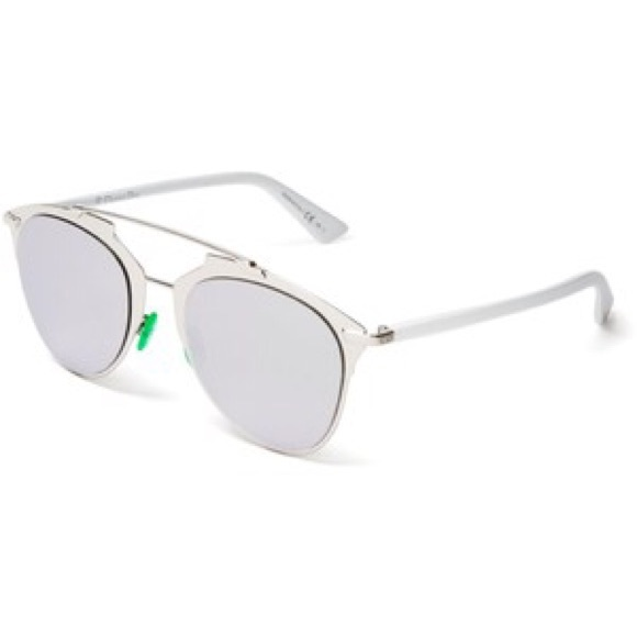 aviator sunglasses reflective  8% off Dior Accessories - Dior Reflective Mirror Aviator ...