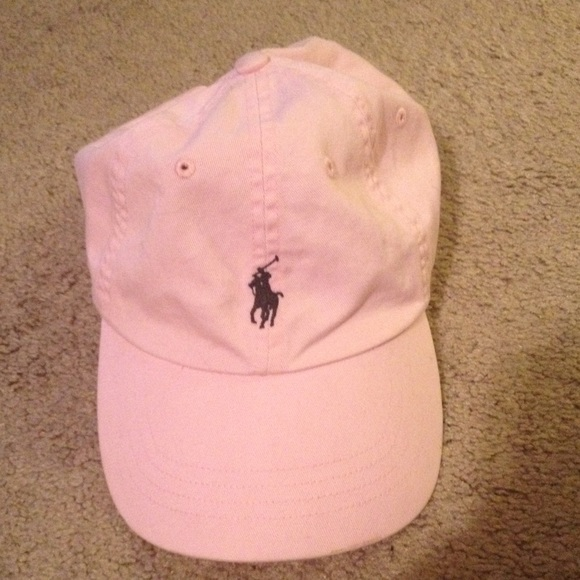 Light pink Ralph Lauren polo hat e883347aada
