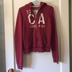 Hollister zip up