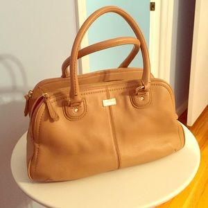 Tan Cole Haan handbag