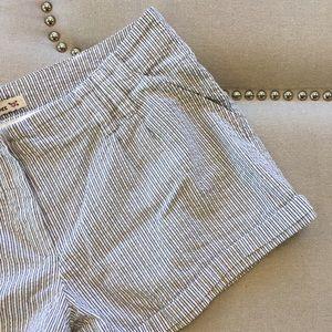 F21 Seersucker Shorts
