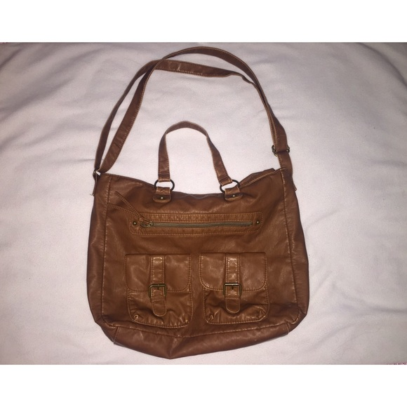50% off Tilly's Handbags - Tilly's, cute brown bag NEVER USED from ...