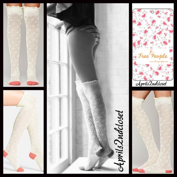 54f203f4a Free People Accessories | Tall Socks Over The Knee Boot Socks | Poshmark