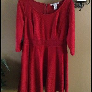 Red dress 1x Just gorgeous !! Worn once