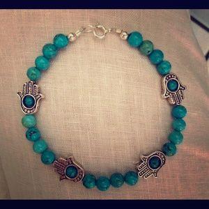 Jewelry - 🕉Hamsa Protection Bracelet