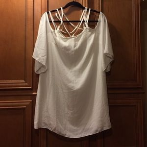 White dress brand new