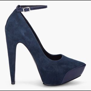 Theysken's Theory Shoes - 🌺FINAL PRICE🌺Theysken's Theory - navy blue suede