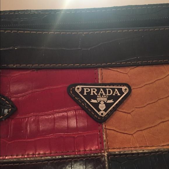 Prada Milano Käsilaukku : Off prada handbags milano purse from alicia s