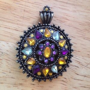 Jewelry - Boho-Chic Antique-Bronze Pendant