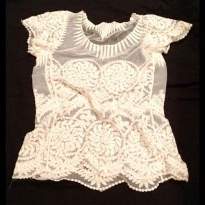 🚫Sold!🚫 Beautiful lace top