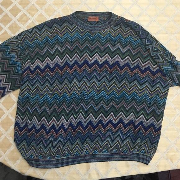 ca39b9885b38d3 Missoni men s sweater. M 55c02cf6278493214501d20e
