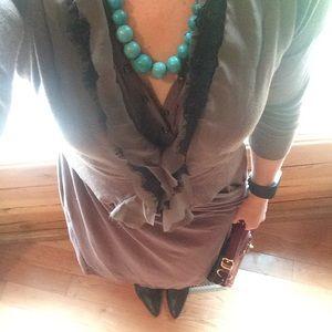 Brown mossimo dress