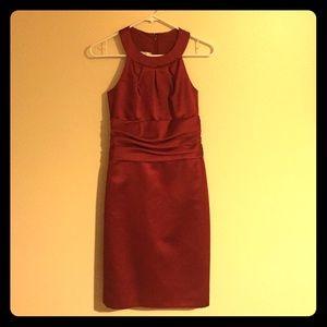 Red David's Bridal Formal Dress