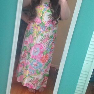 1X! Lilly For Target Plus Size Nosie Posey Maxi