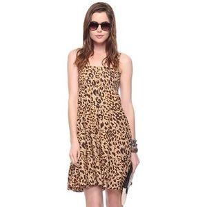 Dresses & Skirts - ❤ | smocked cheetah print sundress |